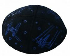 Star Wars Suede Kippah, Sparkling Yarmulkes, Kippot for Jewish Boys Cupples