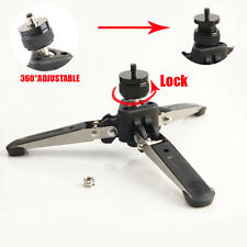 Universal Three Feet Monopod Support Stand Base For Dslr Camera 1/4 3/8 Screw