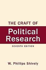 Craft of Political Research, The (7th Edition)-ExLibrary