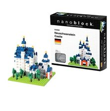 Nanoblock Castle Neuschwanstein Construction toy Nano micro mini Blocks