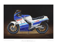 Suzuki RG500 Gamma - Limited Edition Print of 50 by Steve Dunn