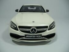 MERCEDES-BENZ C63 S AMG W205 DIAMANTWEISS 1:18 GT-SPIRIT DEALER 1000pcs RARE