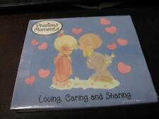 BRAND NEW ~ PRECIOUS MOMENTS: LOVING, CARING AND SHARING ~ KIDS MUSIC CD