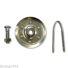 "GENIE 3"" Steel Cable Pulley Universal Garage Door Hardware works most BRANDS"
