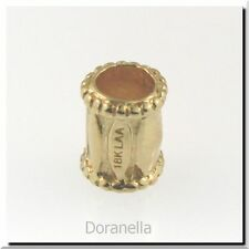 Authentic Trollbeads 18K Gold 21122 Drum :0 RETIRED