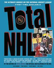 Total NHL: The Ultimate Source on the National Hockey League-ExLibrary