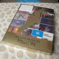 Michael Jackson's - Vision 2010 3xDVD Definitive Collection NEW, Region: 0 #0307