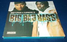 DILLINJA & LEMON D BIG BAD BASS CD 2 DISCS VGC