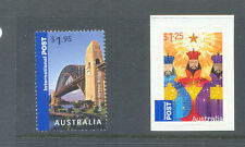Australia Harbour bridge & Xmas self adhesive ( 2 ) mnh