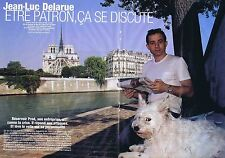 COUPURE DE PRESSE CLIPPING 2005 JEAN-LUC DELARUE  (4 pages)