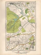 1936 LARGE SCALE MAP -  LONDON HANWELL OSTERLEY SPRING GROVE SYON LANE BOSTON MA
