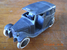 Dinky pre war Taxi 36g with smooth hubs & thinner axels