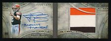 JOHNNY MANZIEL 2014 TOPPS FIVE STAR JUMBO PATCH AUTOGRAPH GOLD RC AUTO 10/10