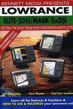 Lowrance Elite-5 DSI Fishfinder/Chartplotter Mark-5x DSI (2012, DVD NIEUW)