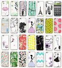New Fashion Cute Pattern Ultra Slim Soft TPU Back Case Cover For Iphone Model