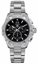 Tag Heuer Aquaracer 300M Chronograph 43mm Black Men's Watch CAY1110.BA0927