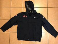 Nike USA Track and Field Beijing Olympic Rain Jacket USATF Joshua Mance Large