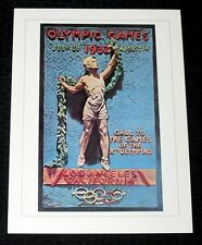 """1932 LOS ANGELES SUMMER OLYMPICS GAMES *POSTER* NICE COND! PRINT 12X16"""" 15814"""