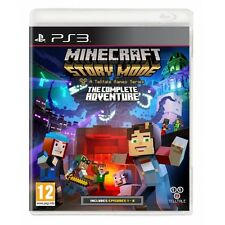 Minecraft Story Mode Complete Adventure PS3 Game Brand New