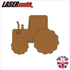 "3mm MDF Large Tractor shape 12"" (300mm) - ideal or craft & decoupage"