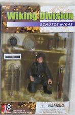 DRAGON ACTION 18 1/18 GERMAN WIKING FIGURE SCHUTZE with G43, PANZERFAUST  xd bbi