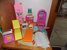1980's Barbie Furniture Lot Mattel Juke Box Surf Board + Arco Lounge Chair +