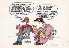 * PARTITO COMUNISTA ITALIANO - 17° Congresso Naz., Firenze 1986 Ellekappa, Natta
