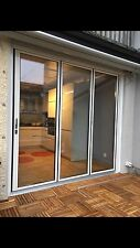 New,Slim profile Quality Aluminuim Bi fold Patio Doors inc Glass 3 panels.see FB