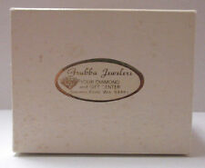 VINTAGE GRUBBA JEWELERS STEVENS POINT BUFKOR RING BOX  ***