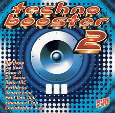 Compilation ‎CD Techno Booster 2 - France (M/EX+)