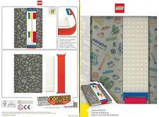 QUADERNO A5 LEGO, 1 RIGO CON ELASTICO COSTRUIBILE Model.51525 JURNAL BAND LEGO