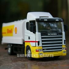 DIE CAST METAL 1/43 SCANIA TANKER MODEL TOY TANK TRUCK REPLICA