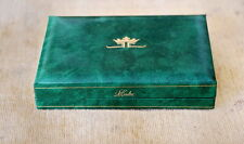 VINTAGE LECOULTRE BOXES PAPERS SET AUTHENTIC GALAXY FUTUREMATIC MASTER MARINER..
