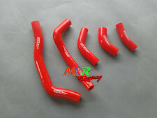 for HONDA CRF450R CRF 450 R 2005-2008  silicone radiator collant hose red new