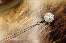 """Joli collier """"Wired Ball Silver"""" - Envoi GRATUIT de France le jour même"""