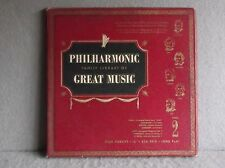 PHILHARMONIC FAMILY LIBRARY OF GREAT MUSIC ALBUM 2 Classical Schubert Dvorak