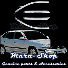 Chrome Door Window Vent Visor Deflector for 01~06 Hyundai Elantra 5DR