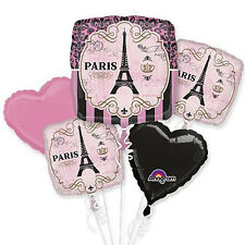 A Day in Paris Balloon Bouquet, Wedding,Graduation & Birthday Party Supply Favor