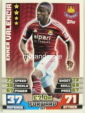 Match Attax 2014/15 Premier League - #357 Enner Valencia - West Ham United