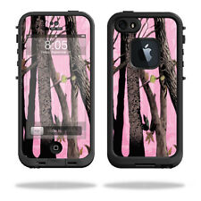 Skin Decal Wrap for LifeProof iPhone 5/5s/SE Case fre Case Pink Tree Camo