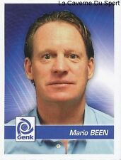 099 ENTRAINEUR MARIO BEEN NETHERLANDS KRC.GENK STICKER FOOTBALL 2012 PANINI