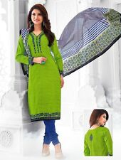 Elegant Cotton Designer Printed Unstitched Dress Material Salwar Suit .No GP515