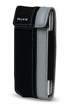 Belkin Canvas Flip Case for Ipod Nano 1G 2G 1st 2nd Gen Black/Grap F8Z129-kg