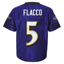 Baltimore Ravens JOE FLACCO nfl Jersey YOUTH KIDS BOYS (XXL-XL-2XL-18)
