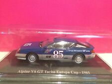 SUPERBE ALPINE RENAULT V6 GT TURBO EUROPA CUP 1985 NEUF SOUS BLISTER 1/43 B1