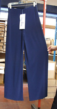 Joseph Ribkoff UK 10 Stuning Stetch Elastic Jersey Dec Buckle Navy Blue Trousers