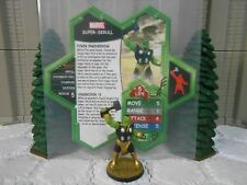 Heroscape Custom Super-Skrull Double Sided Card & Figure w/ Sleeve Marvel