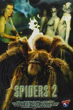 SPIDERS 2   DVD NEU  STEPHANIE NIZNIK/GREG CROMER/DANIEL QUINN/+
