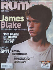 RUMORE 230 2011 James Blake Keith Morris Pains Being Pure Heart Green Like July
