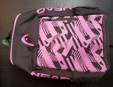 HEAD Pink Radical Backpack Limited Edition BRAND NEW